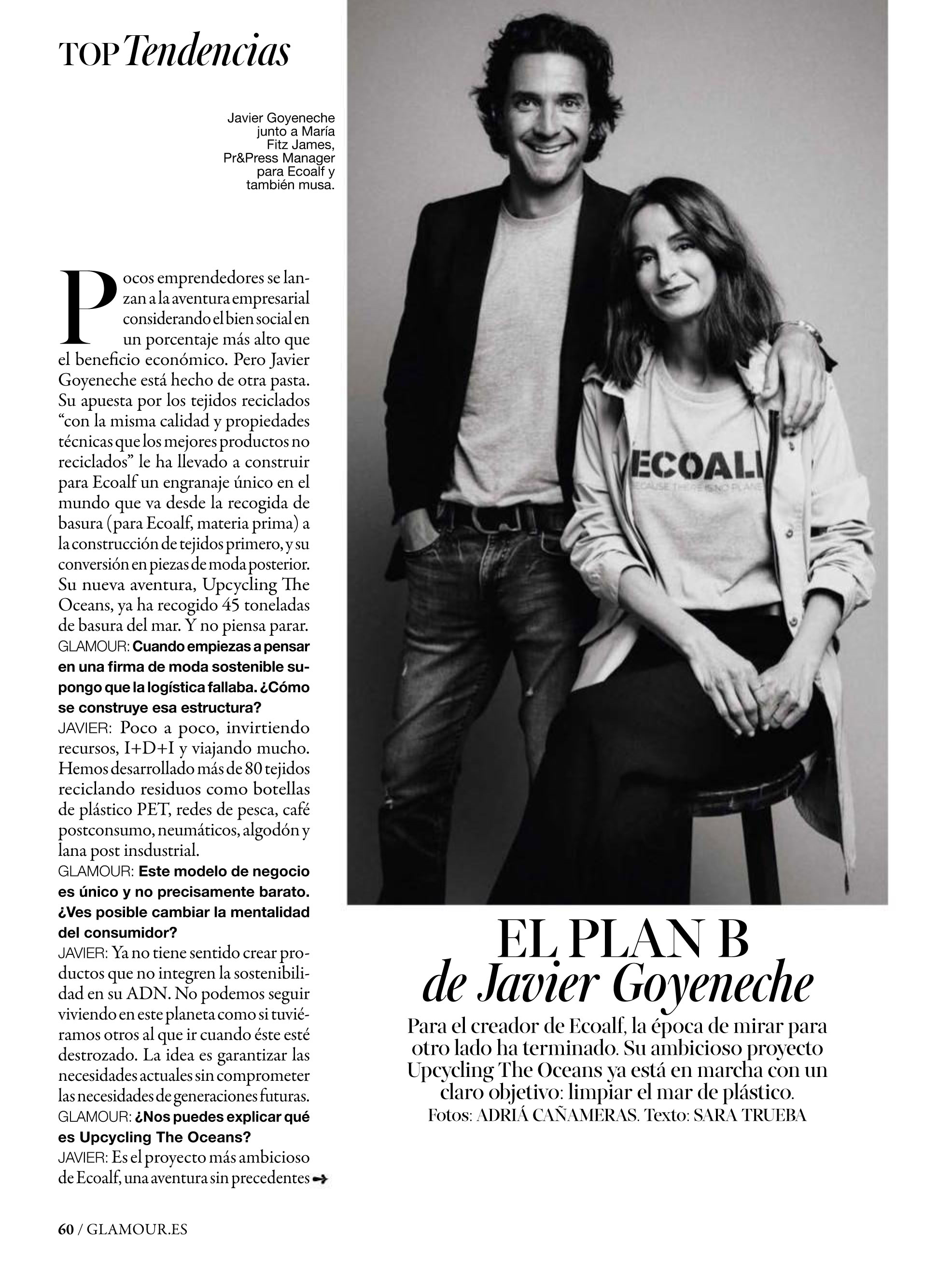 ECOALF @ Glamour Jun 2016